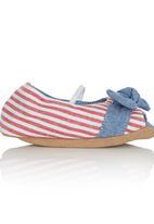 Myang - Peep-Toe Loafer Multi-colour