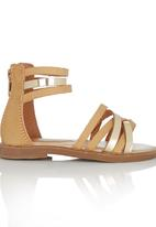 Rock & Co. - Gladiator Sandal Stone/Beige