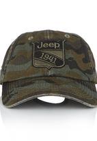 JEEP - Jeep Camo Emb Cap Multi-colour