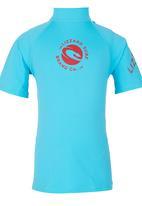 Lizzard - Rash Vest Turquoise