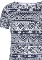 Rebel Republic - AztecT-shirt Dress Multi-colour
