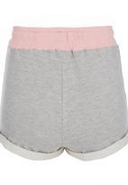 Rebel Republic - Unbrushed Fleece Shorts Multi-colour