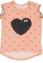 Eco Punk - Girls Heart T-Shirt Multi-colour