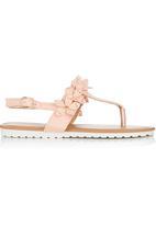 Foot Focus - Sandal Cerise Pink