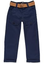 POP CANDY - Twill Pants Navy