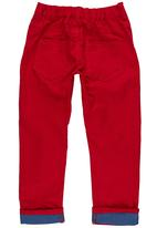 POP CANDY - Twill Trousers Red