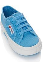 SUPERGA - Canvas Sneaker Mid Blue