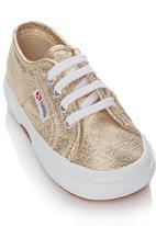 SUPERGA - Metalic Sneaker Gold