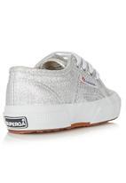 SUPERGA - Metalic Sneaker Silver