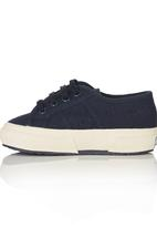 SUPERGA - Canvas Sneaker Navy