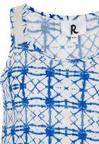 Rebel Republic - Flowy Lace Inset Vest Multi-colour