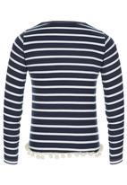 Rebel Republic - Tassle Trim Sweater Multi-colour
