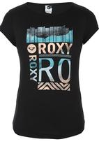 Roxy - Printed T-shirt Black