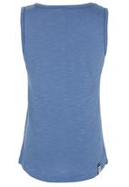 Roxy - Branded Racer-Back Vest Mid Blue
