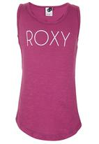 Roxy - Branded Racer-Back Vest Mid Purple