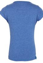 Roxy - V-neck T-shirt Mid Blue