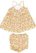 Just chillin - Floral Set Multi-colour