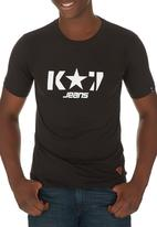 K-Star - Logo Tee Black