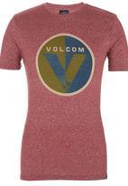 Volcom - Filter Tee Dark Red
