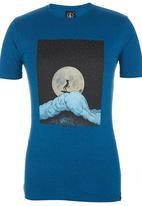 Volcom - Millard Dude Tee Mid Blue