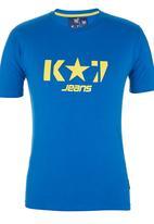K-Star Clothing - Logo Tee Mid Blue