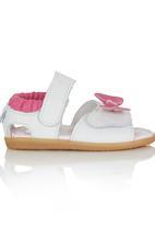 shooshoos - Pink bow sandal Multi-colour