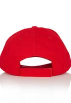 Character Fashion - Spiderman Peak Cap Red