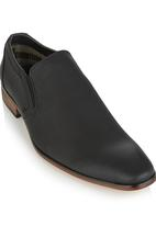 Gino Paoli - Gino Paoli Anilene Formal Slip On Shoe Black