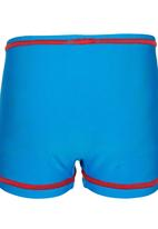 Hooligans - Boys Swim Shorts Mid Blue