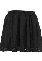 Rebel Republic - Lace Skirt Black