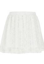 Rebel Republic - Lace Skirt Milk