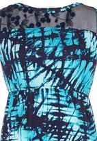 Rebel Republic - Lace inset dress Multi-colour