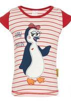 Hooligans - Sassy Penguin T shirt Multi-colour