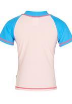 Hooligans - Girls Rash Vest Multi-colour