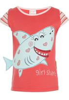 Hooligans - Shark T shirt Multi-colour