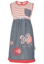 Hooligans - Girls Dress Multi-colour