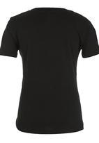 Lizzard - Boys Surf Tshirt Black