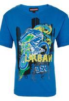 POP CANDY - Boys Tshirt Mid Blue