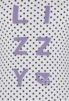 Lizzy - Racer Back Vest White