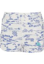 Roxy - Summer Shorts Blue and White