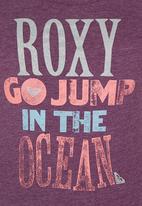 Roxy - Printed Tshirt Mid Purple