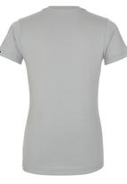 Quiksilver - Printed Tshirt Grey