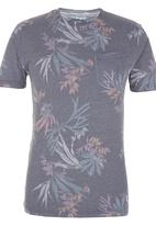 Quiksilver - Scorpion forest Tee Pale Grey