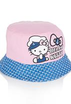 Character Fashion - Hello Kitty Bucket Hat Multi-colour