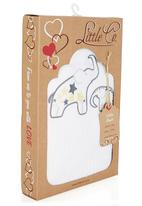 Little Co. Baby - Cellular Blanket White