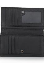 Billabong  - Floral Embossed Wallet Black