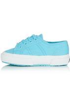 SUPERGA - Canvas Sneaker Turquoise