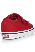 Vans - Toddler Velcro Strap Sneaker Red