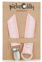 Pickalilly - Lace Dummy Chain Pale Pink