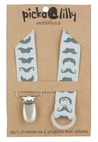 Pickalilly - Mustaches Dummy Chain Grey